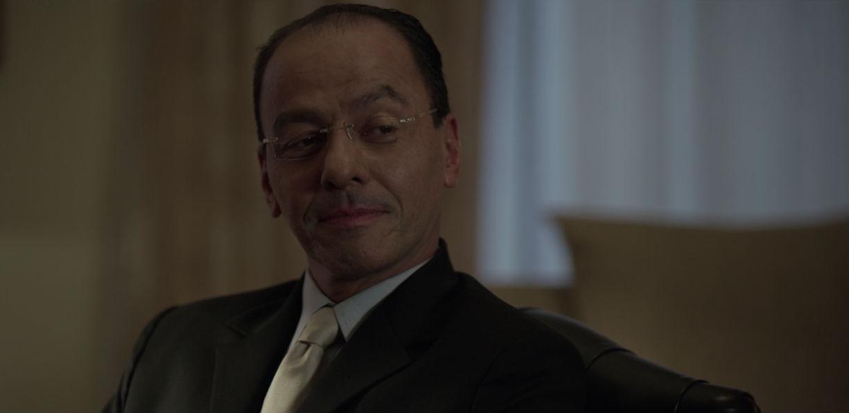 Homero Ferruzca como Felipe Calderón