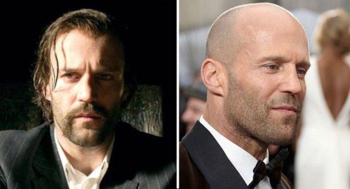 Jason Statham antes y después