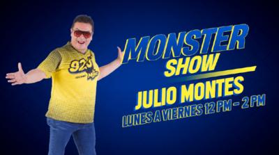 EL MONSTER SHOW CON JULIO MONTES