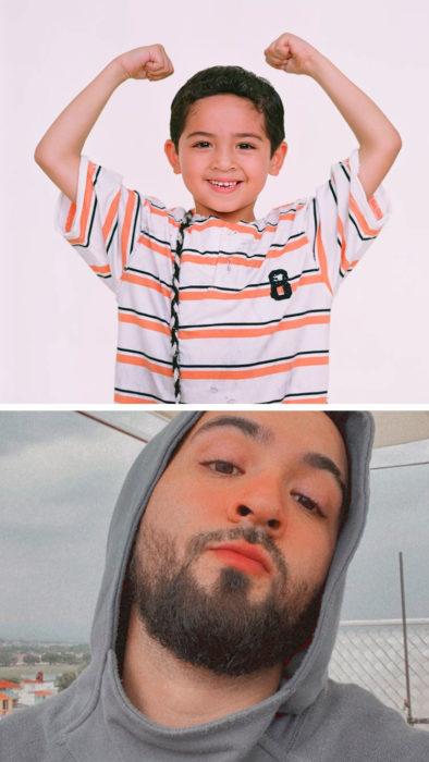 Alejandro Correa niño