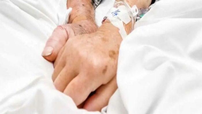 El matrimonio de abuelitos que murió de la mano por Covid