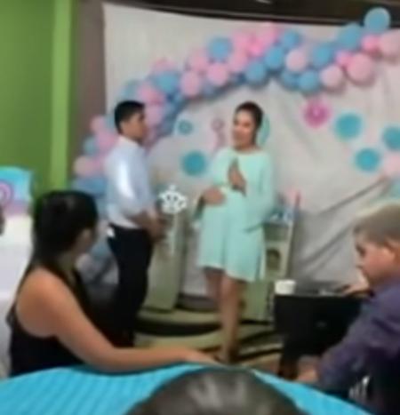 Hombre estéril delata infidelidad en baby shower