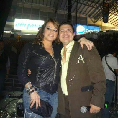 Jorge Medina y Jenni Rivera