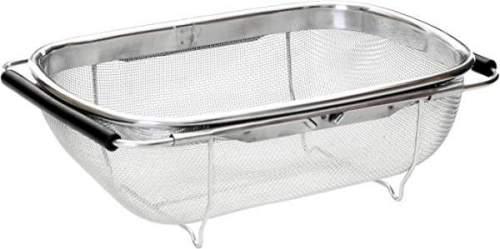 Scolapasta Housewares Con Manici Allungabili Per Lavandino 1