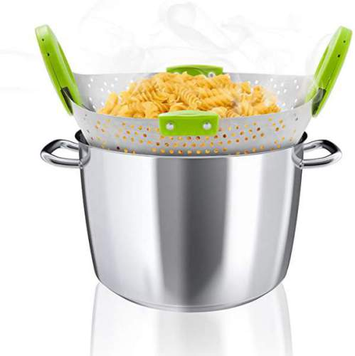 Scolapasta Telescopico Acciaio Inox Goods And Gadgets 1