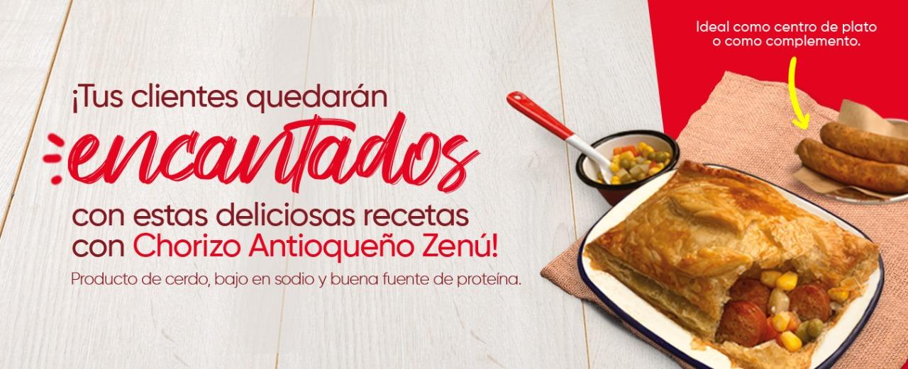 Chorizo Antioqueño Zenu - Septiembre 2021 (CARNICOS)