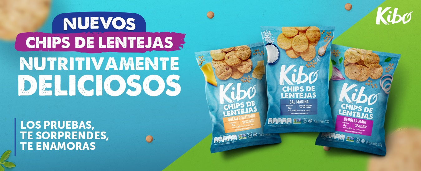Pasabocas Kibo Lenteja - Julio 2021 (NOEL)
