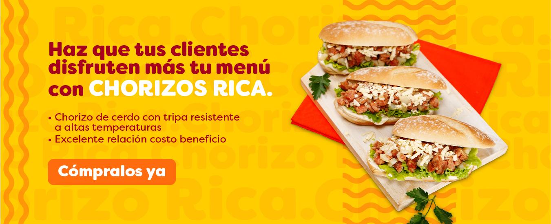 Chorizo Rica - Octubre 2021 (CARNICOS)