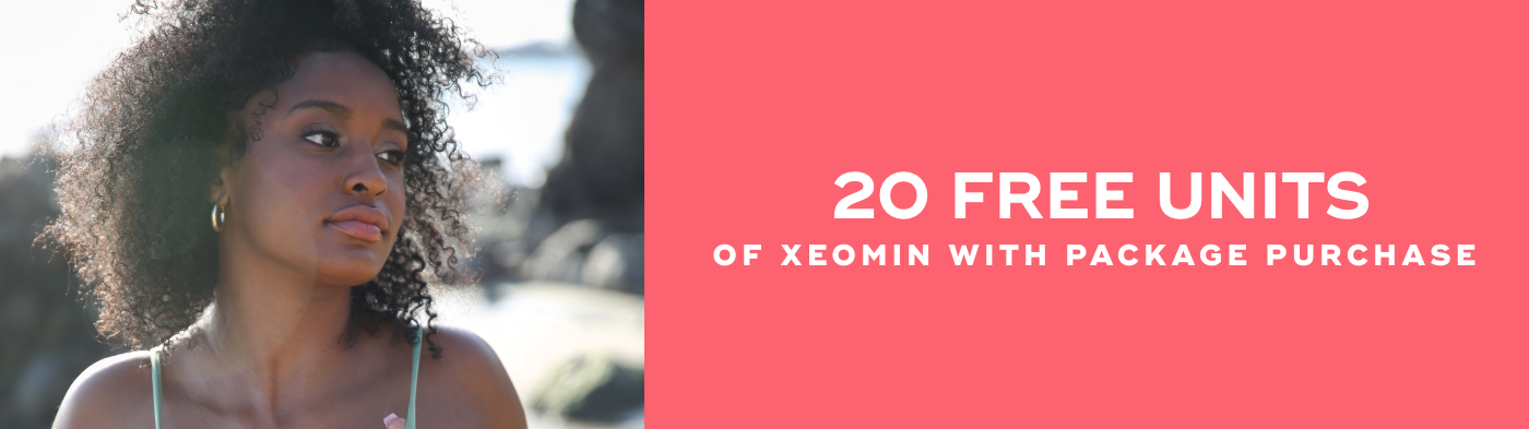 20 free units of Xeomin with package purchase