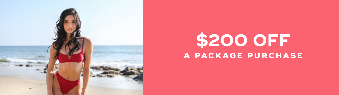 $200 off any package purchase