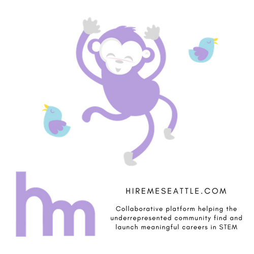 Hireme seattle logo