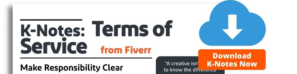 K-Notes: Terms of Service from Fiverr - Download Now