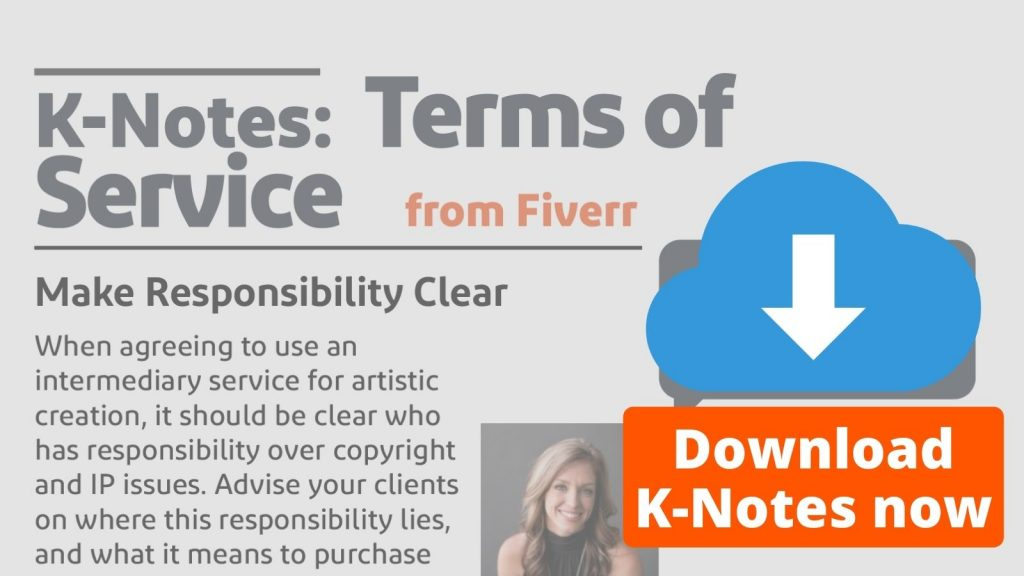 K-Notes: Terms of Service from Fiverr Download Now