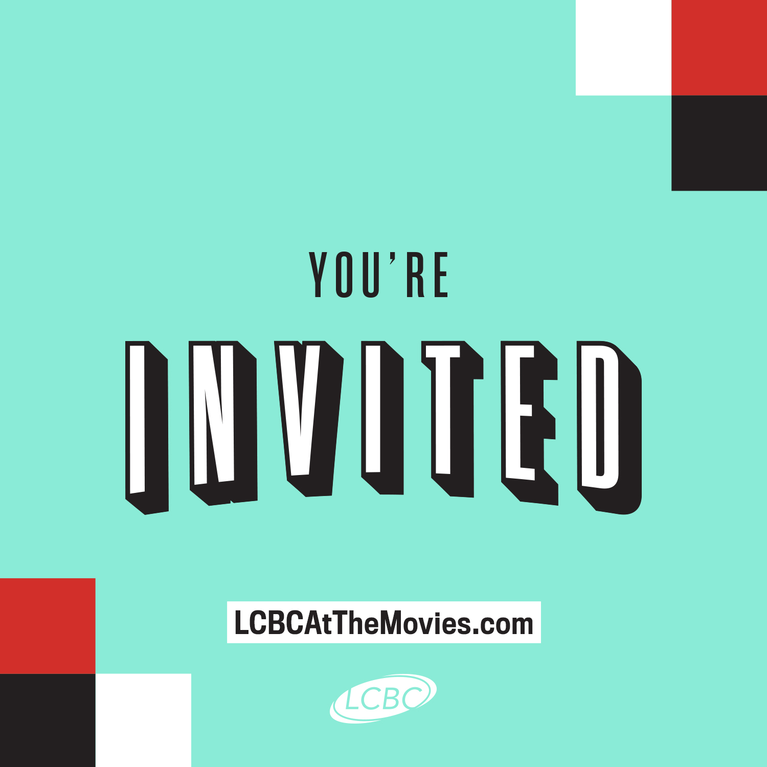 LCBC At The Movies Social Graphics