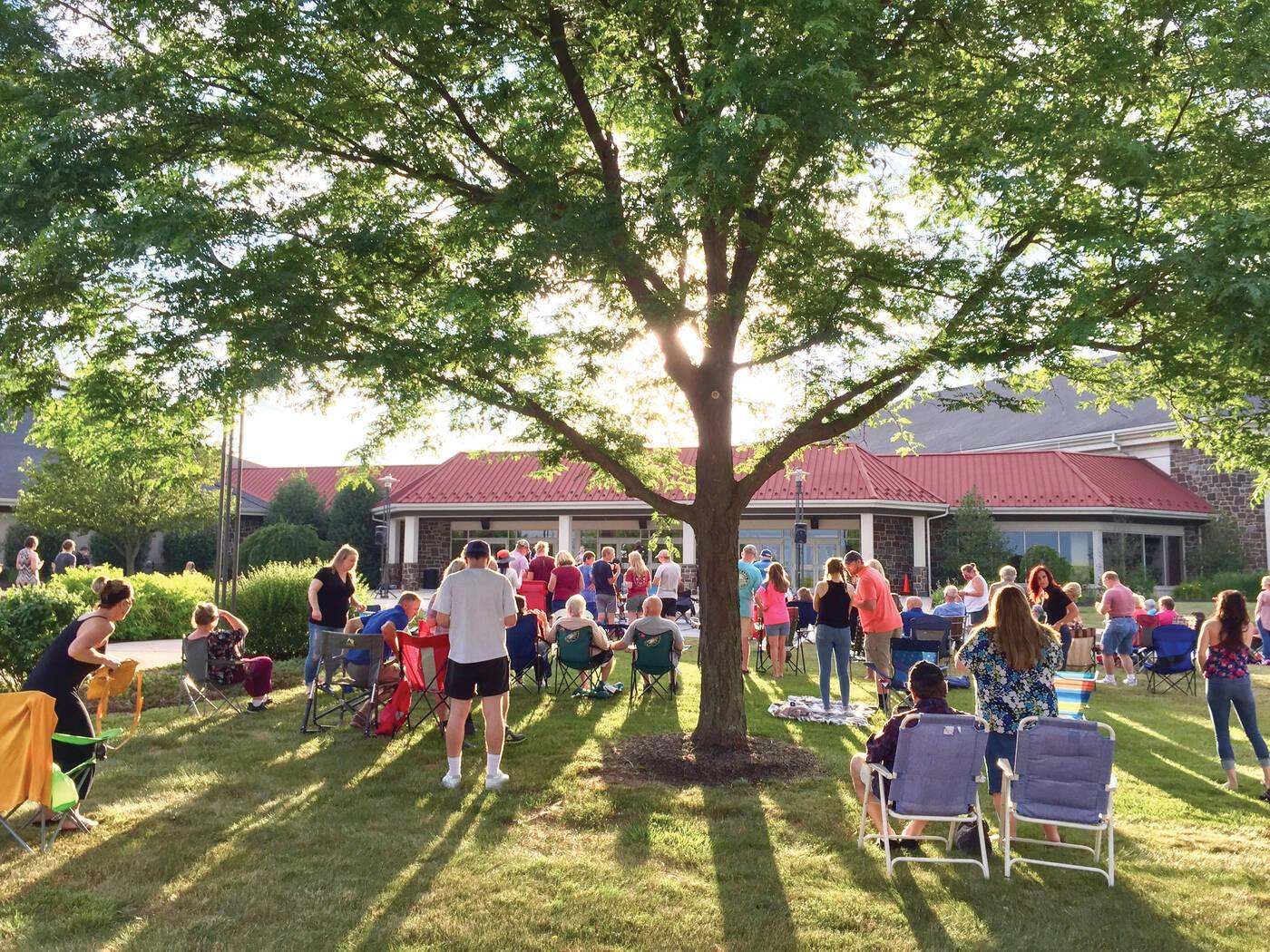 Outdoor Acoustic Worship Night at LCBC BranchCreek (Harleysville)