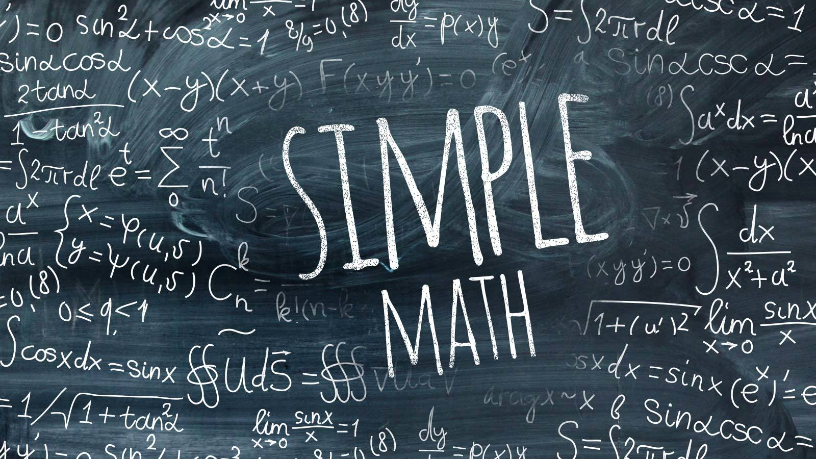 Simple Math | Lives Changed By Christ · LCBC Church