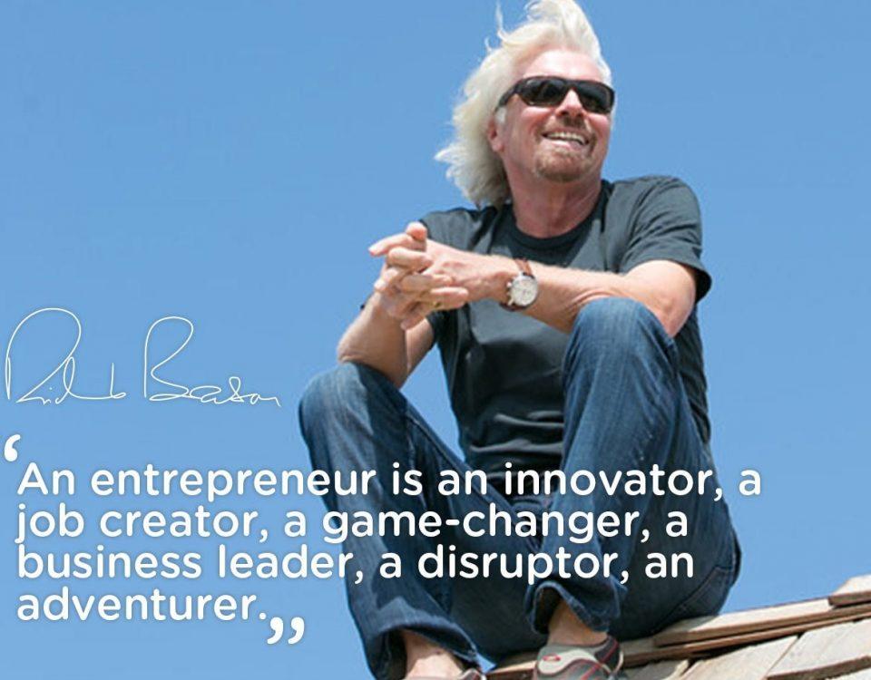 Inspiring quote by Richard Branson
