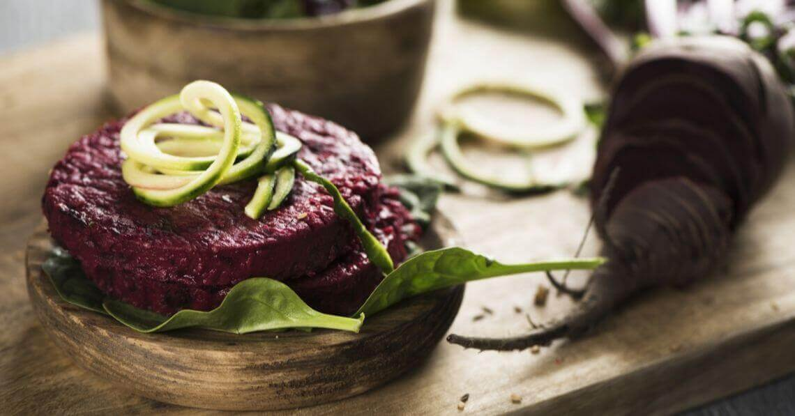 Beets and zucchini