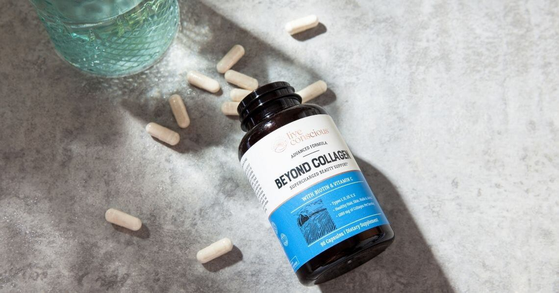Live Conscious Beyond Collagen Capsules and Bottle