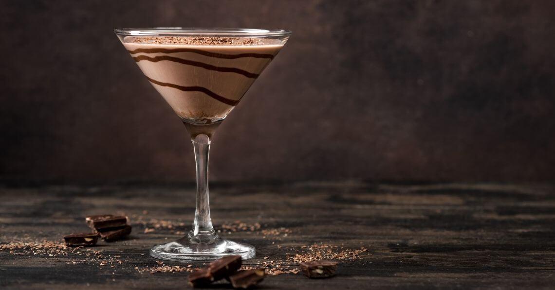 Conscious Protein Mudslide Mocktail