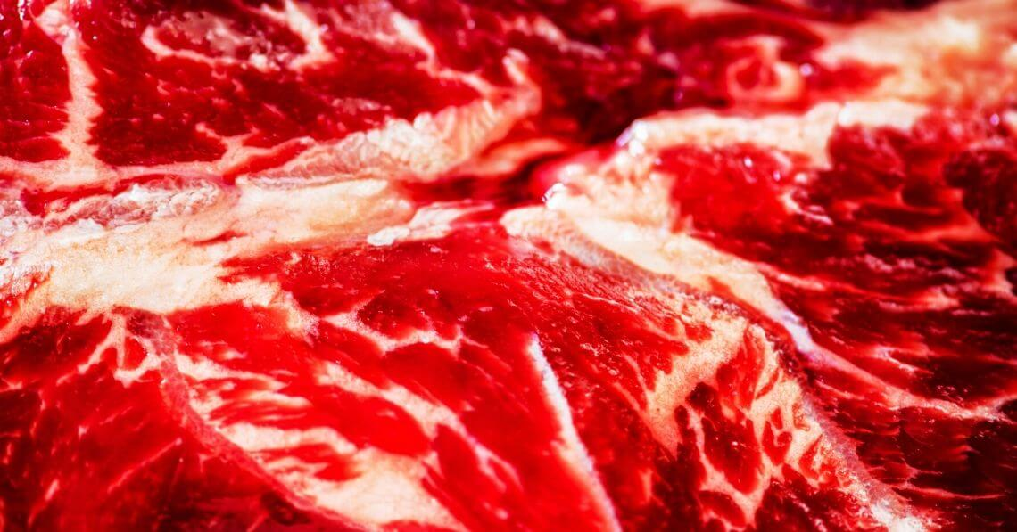 Close-up of a meat cut
