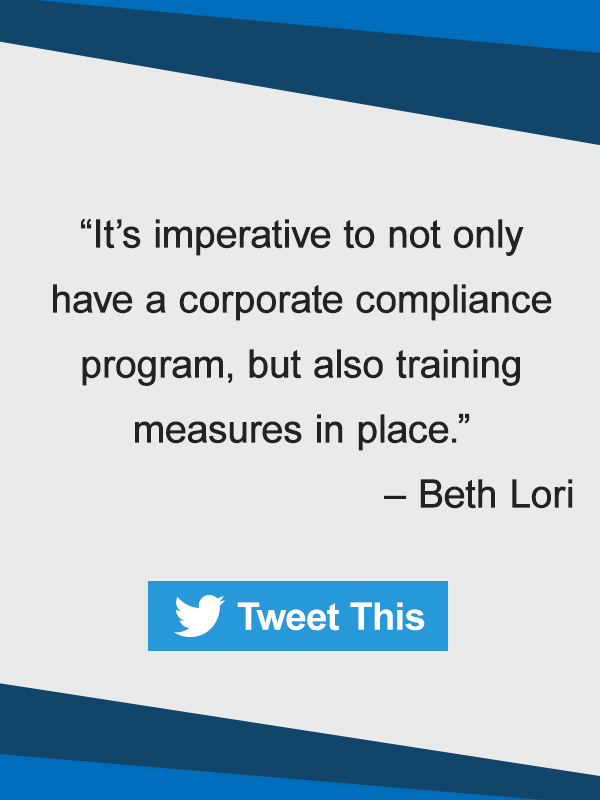 Corporate compliance plan for nursing homes