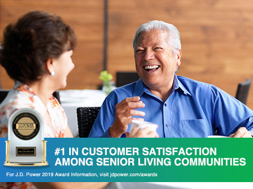 Life Care Services ranked #1 in all seven ranking factors by J.D. Power for senior living communities