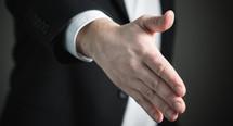 Thumb handshake