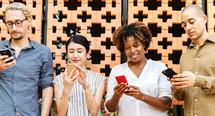 Thumb smartphone addiction