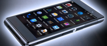 Thumb smartphone header
