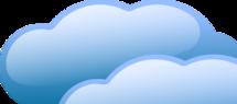 Thumb cloud header