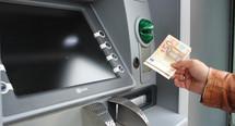 Thumb geldautomat