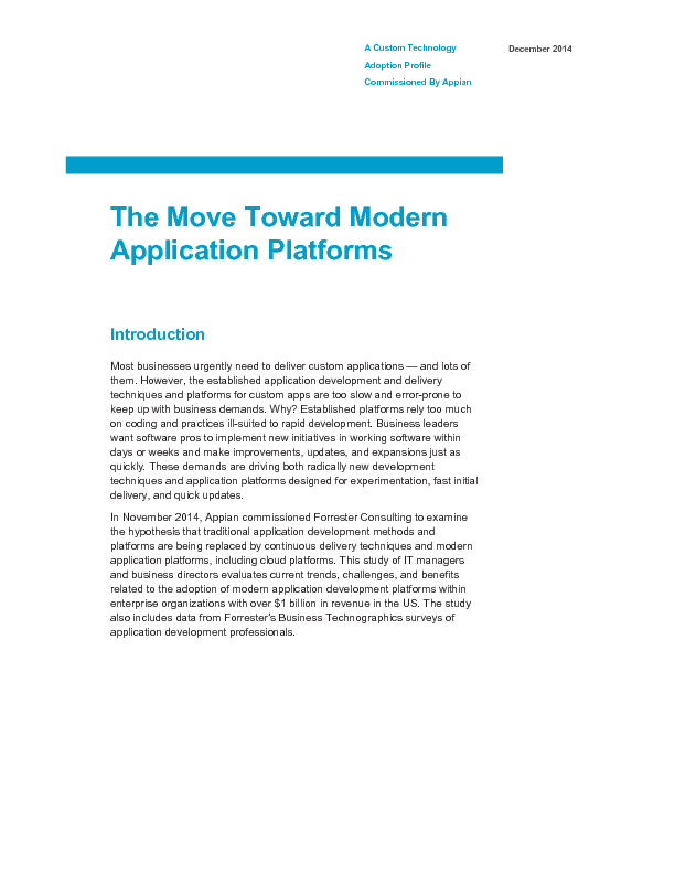 Thumb original forrester   the move toward modern application platforms