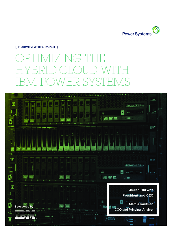 Thumb original ov31248 power optimizing the hybrid cloud with ibm power systems