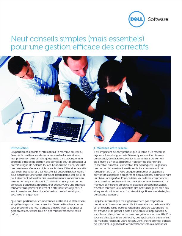 Cropped thumb original neuf conseils simples mais essentiels pour une gestion efficace des correctifs white paper 15421