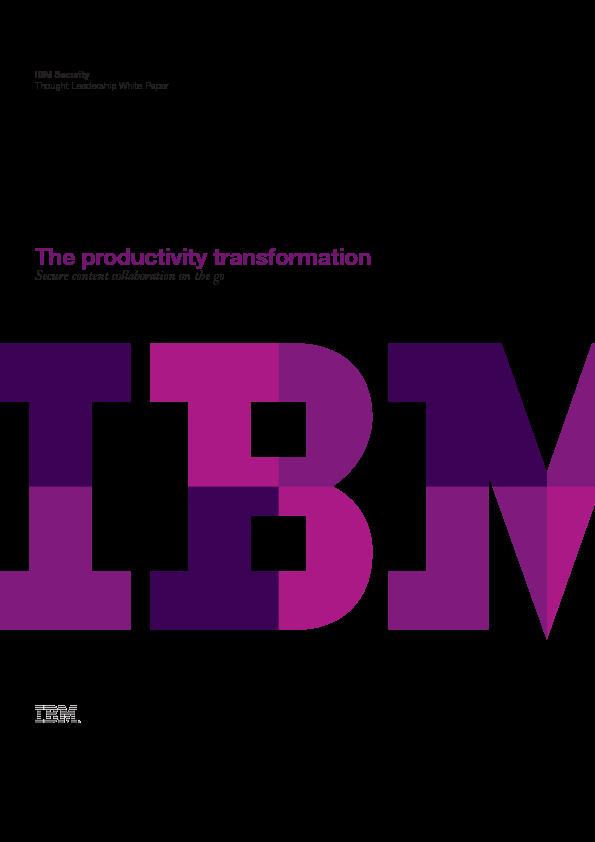 Thumb original the productivity transformation
