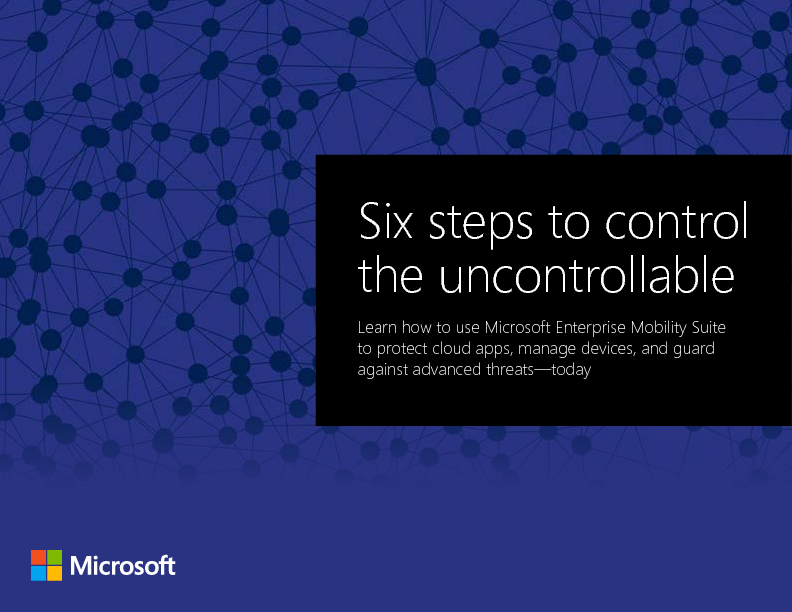 Thumb original six steps to control the uncontrollable