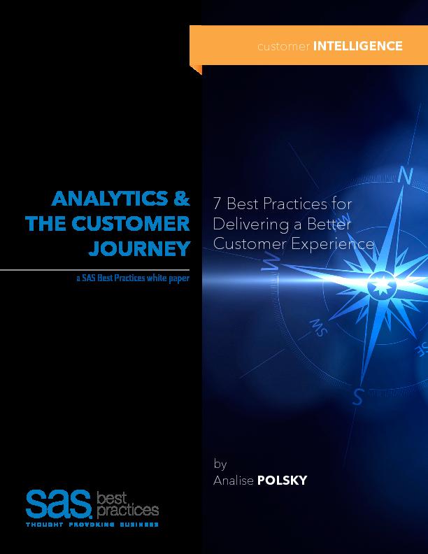 Thumb original analytics and the customer journey