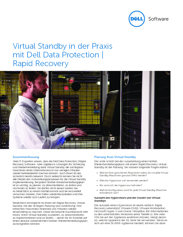Square cropped thumb original virtual standby in der praxis mit dell data protection rapid recovery zusammenfassung technical brief 22274