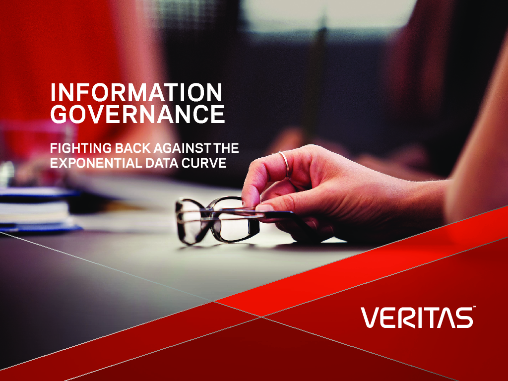 Thumb original veritas ebook information governance fighting the exponential data curve sept2015