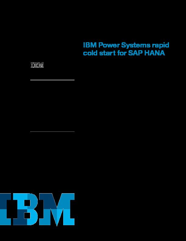 Thumb original ibm power systems rapid cold start for sap hana