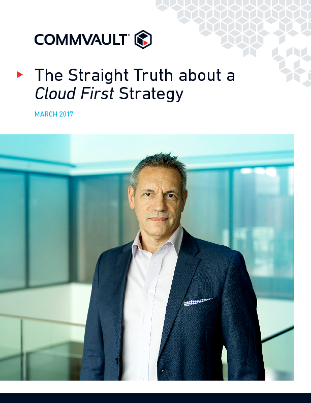 Thumb original the straight truth about a cloud first strategy