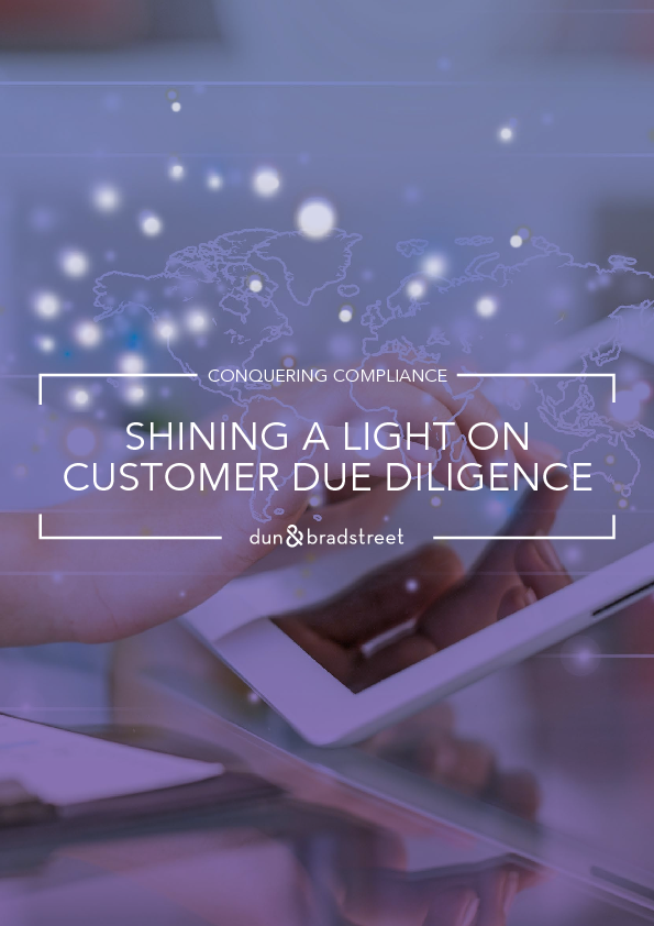 Shining a light on customer due diligence