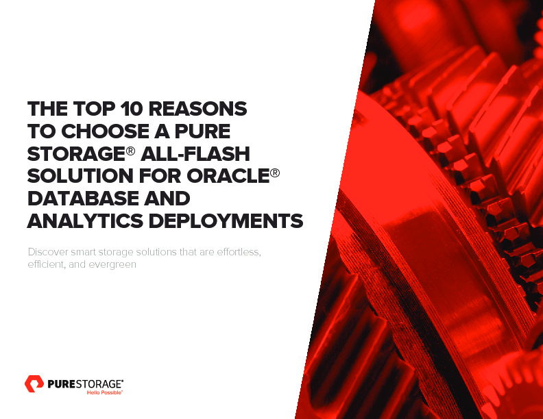 Thumb original top 10 reasons to choose all flash solutions for oracle database and ana...