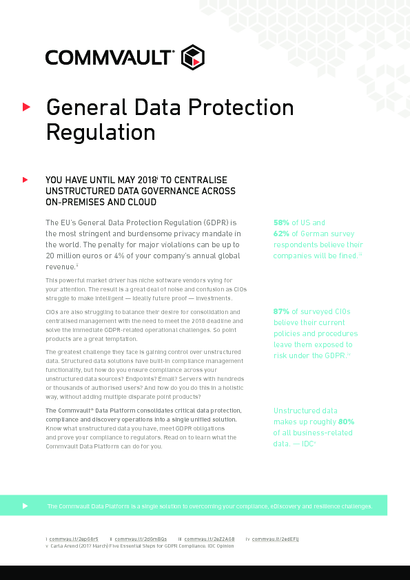 Thumb original gdpr centralise unstructured data governance across on premises and cloud