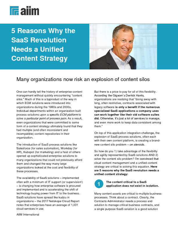 Thumb original  aiim tip sheet  5 reasons why the saas revolution needs a unified content strategy