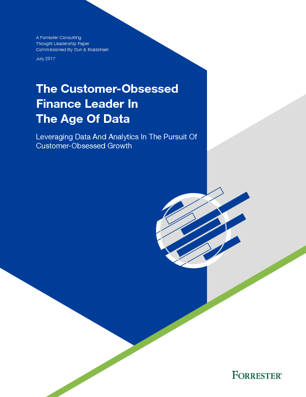 The Customer-Obsessed Finance Leader In The Age Of Data