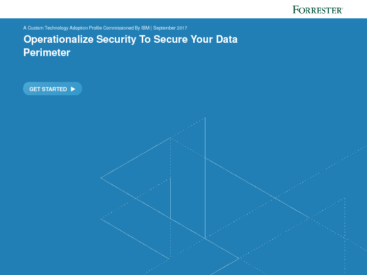 Operationalize Security To Secure Your Data Perimeter