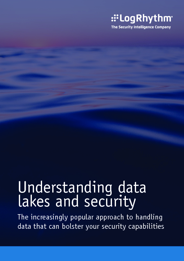 Understanding data lakes and security