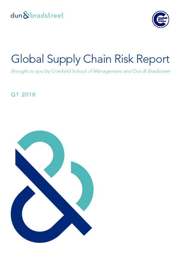 Global Supply Chain Risk Report Q1